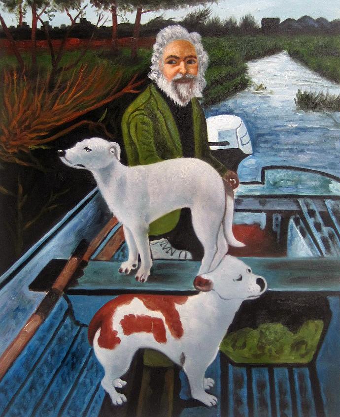 Folk Art Painting For Dogs